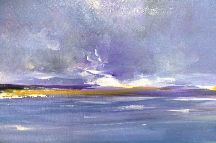 Kate Walsh Sea (2011) Acrylics on Canvas
