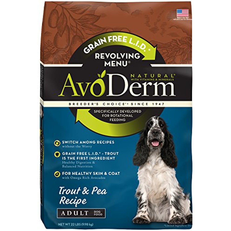 AvoDerm Natural Revolving Menu Adult Dog Food, Trout and
