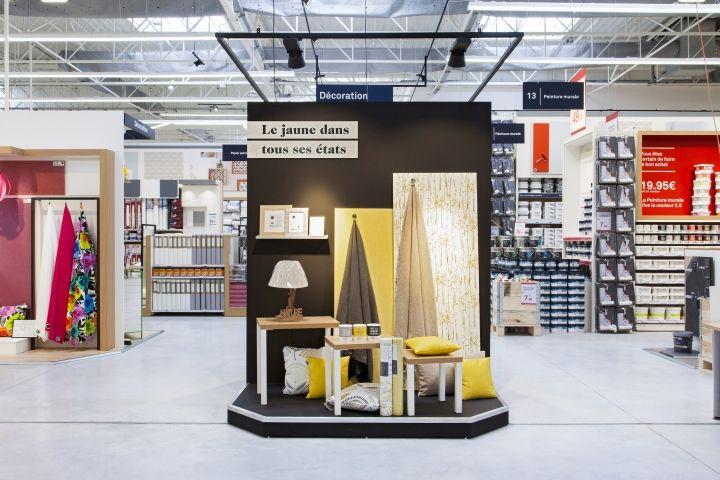 leroy merlin store by dalziel pow le havre france retail design blog inspiration. Black Bedroom Furniture Sets. Home Design Ideas