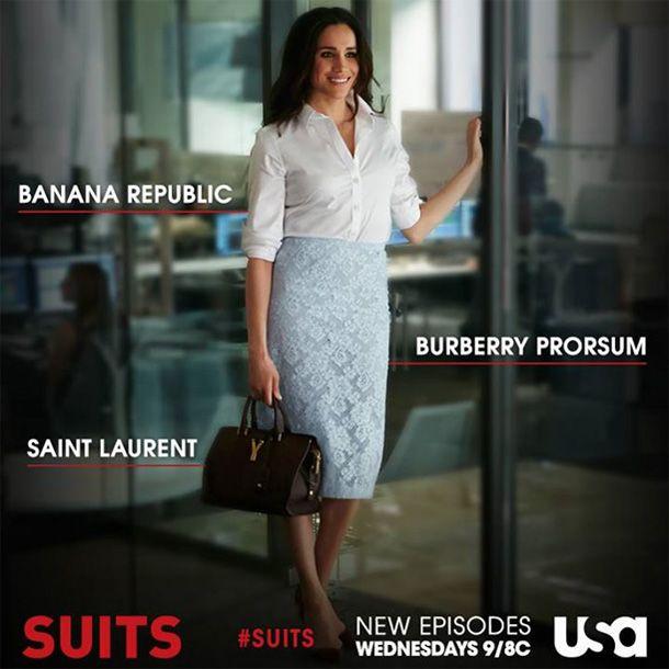 オフィスコーデはアメリカドラマでおさえて!テレビシリーズ「スーツ」のレイチェル役、メーガン・マークルのファッション♡ もっと見る