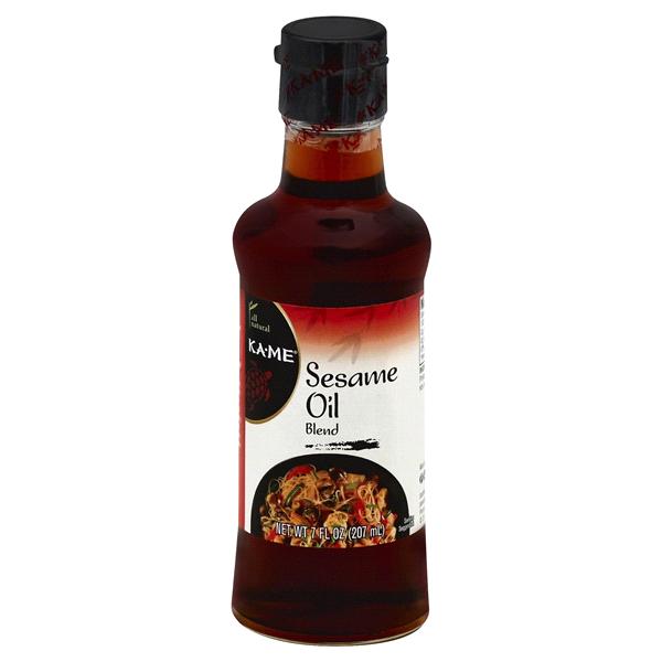 Kame Sesame Oil Blend, 7 oz Braggs apple cider, Oil blend