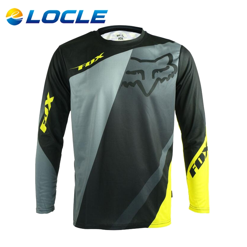 68.20$  Buy now - http://ali2g6.worldwells.pw/go.php?t=32788997020 - LOCLE Breathable Cycling Jersey Soft Cycling Clothing 7 Colors MTB Bike Bicycle Clothes Motocycle T-shirt Size S To XL 68.20$