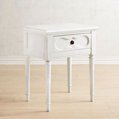 This Vintage Style French Inspired Cameo Nightstand Works For The Bedside Or Wherever You Need A White Dresser Decor Magnolia Home Collection Kids Bedroom Diy