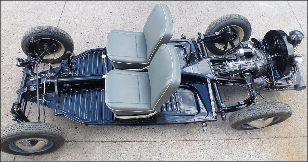 Beetle Chassis restored | Fusca customizado