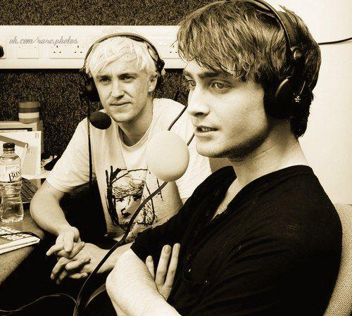 Tom Felton And Daniel Radcliffe  Harry Pottery-4942