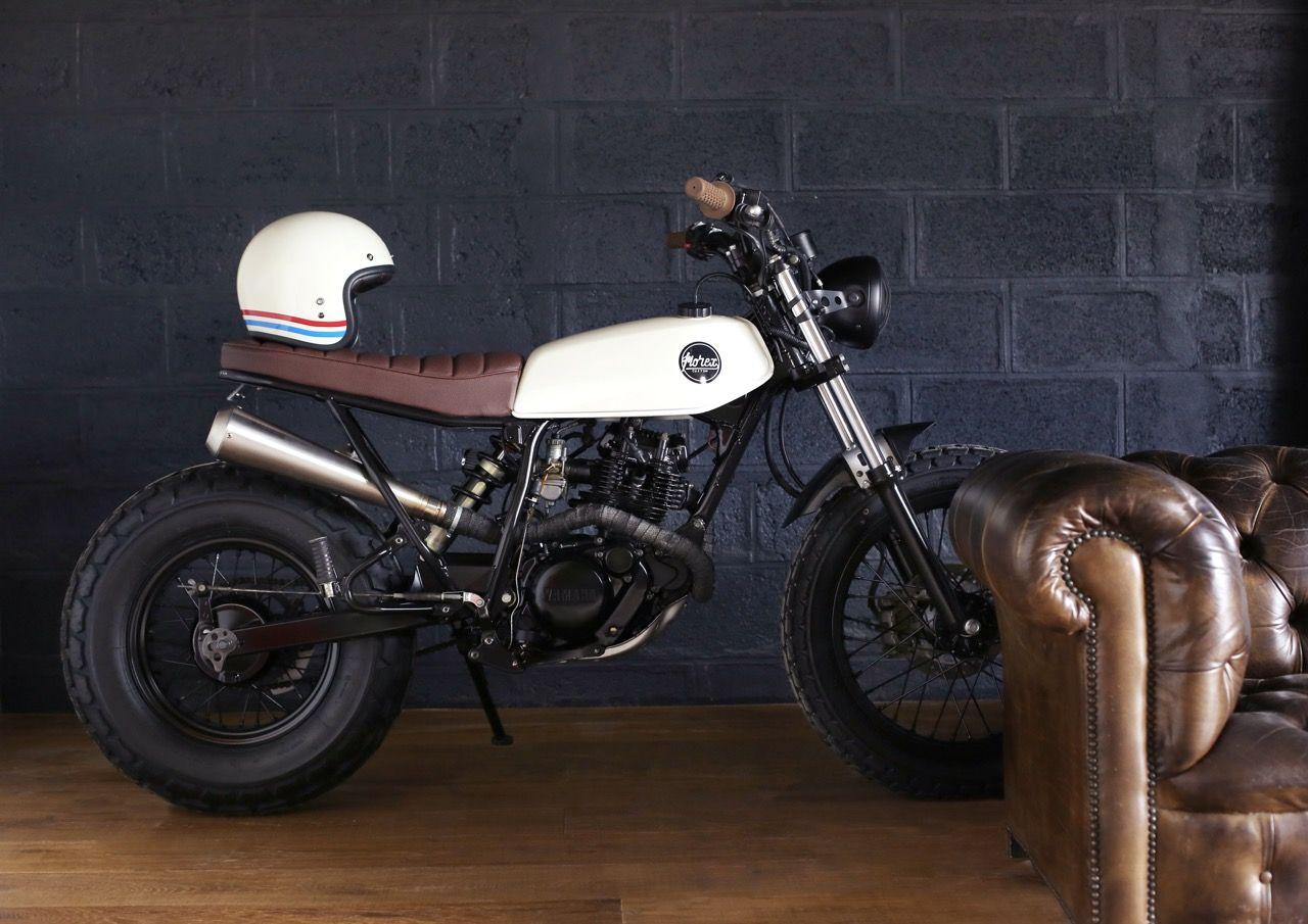Yamaha Tw Morex Custom Morexcustom 89morelkevin Joanmorel96 Yamaha Tw 125 Light Shade Custom Cafe Racer Cafe Racer Bikes Yamaha Tw 125