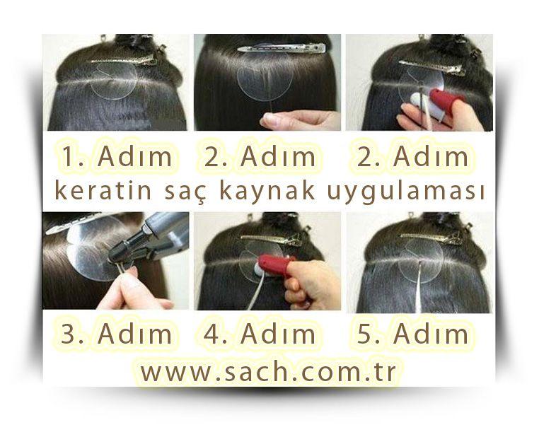 Keratin Sac Kaynak Nasil Yapilir Hair Extensions Hair Starting Types Of Hair Extensions
