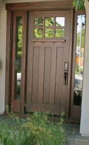 Tm Cobb Craftsman Entry Door Sidelights Google Search