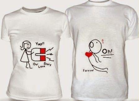 Camisetas Com Frases Românticas