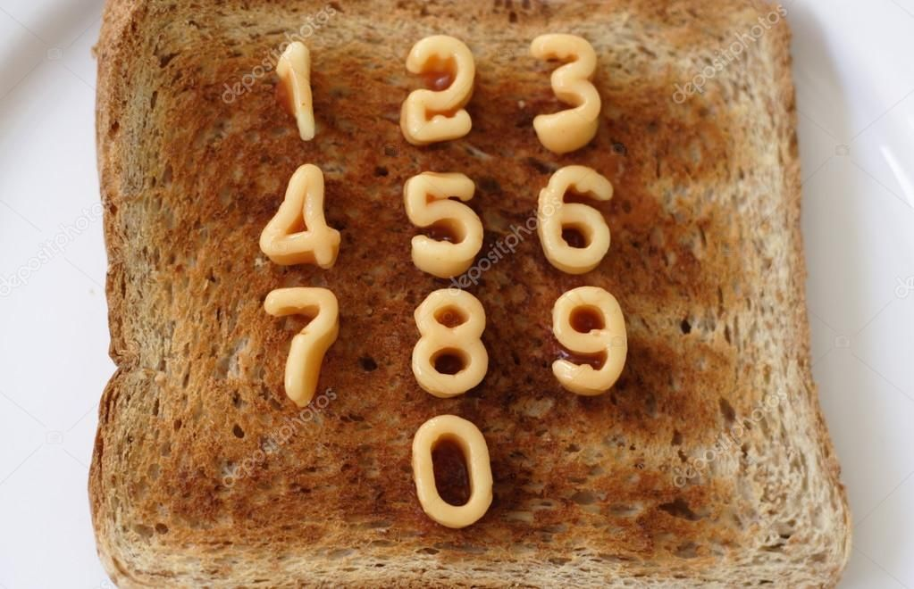 Image result for number spaghetti desserts food banana