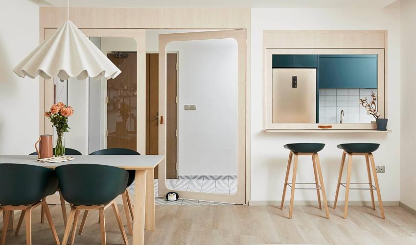 森林綠北歐風!新加坡 30 坪童話系新婚公寓 - DECOmyplace 室內設計裝潢與居家佈置社群