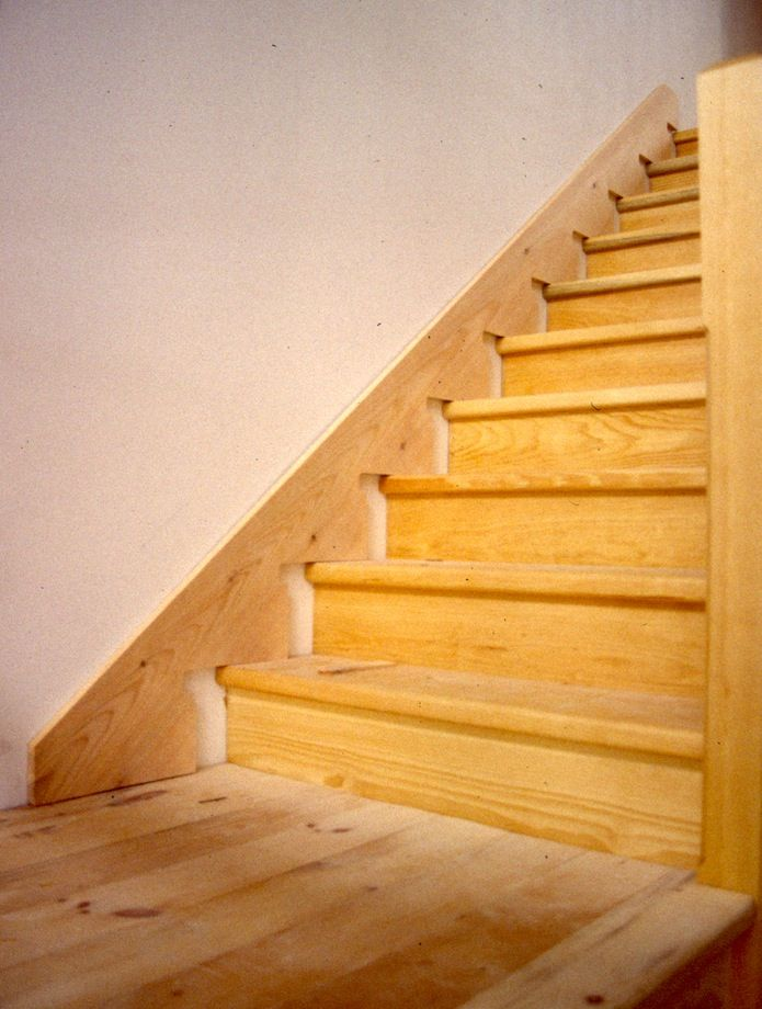 Scribing stair skirt boards revisited thisiscarpentry for Hardwood skirting