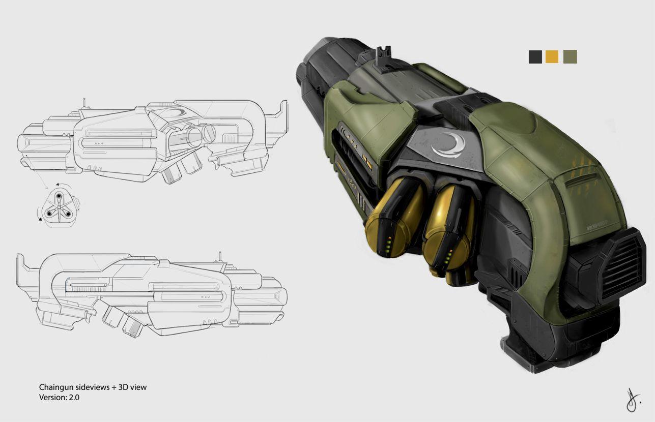Crysis Wars mod Chaingun - Gavin Eastwood