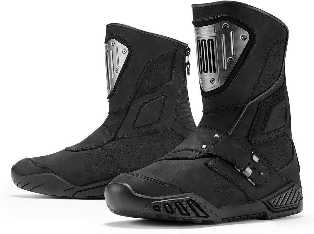 Icon Retrograde Motorcycle Motorbike Boots Brown