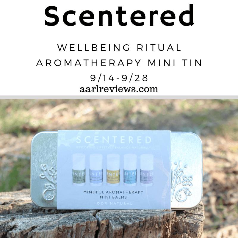 GIVEAWAY: Win a Scentered Wellbeing Ritual Aromatherapy Mini Tin