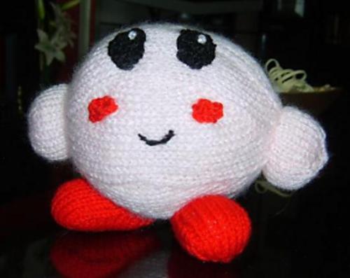 Kirby Pokemon Character Free Knitting Pattern Here Httpwww