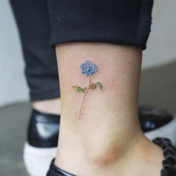 40 Ideias De Tatuagens Delicadas E Cheias De Cor