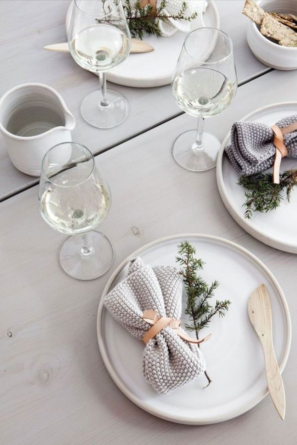 ... nordic-inspired festive table | design | décor