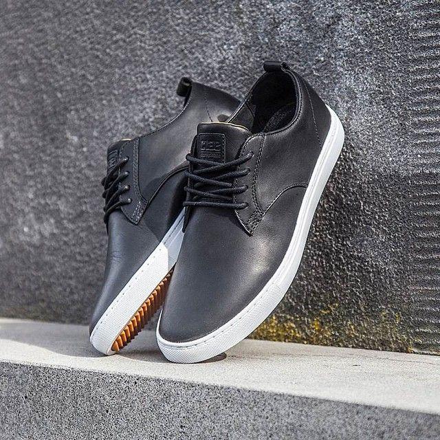 Dress shoes men, Black leather shoes