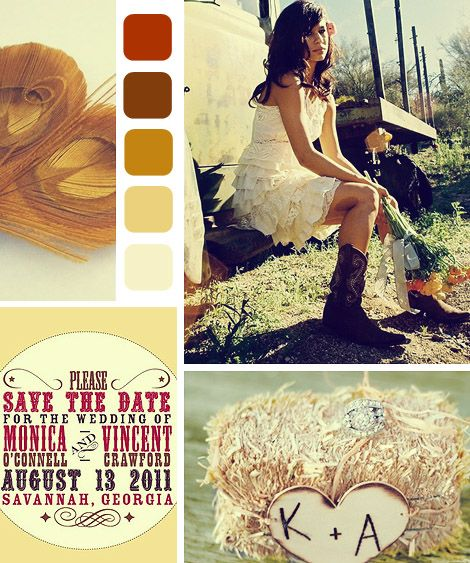 Fall Vintage Wedding Ideas: Rustic Winter Wedding Color Themes - Bing Images