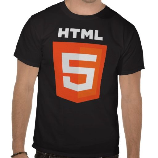 Html 5 Logo Official W3 W3c T Shirt Zazzle Com With Images