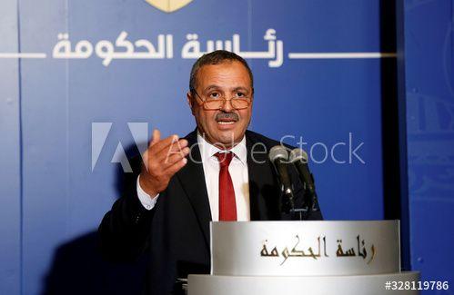 Tunisian Health Minister Abdellatif el-Mekki speaks at a news conference in Tunis , #Sponsored, #Abdellatif, #el, #Minister, #Tunisian, #Health #Ad