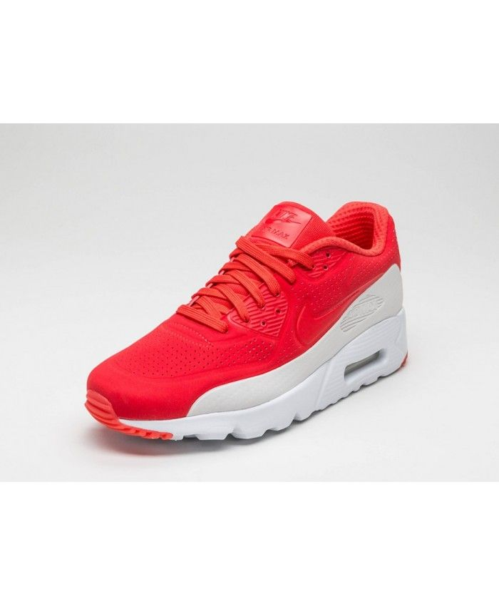 new styles abea4 dfd0a Air Max 90 Ultra Moire White Red Trainer With pants very trendy, very  comfortable to wear and bounce.