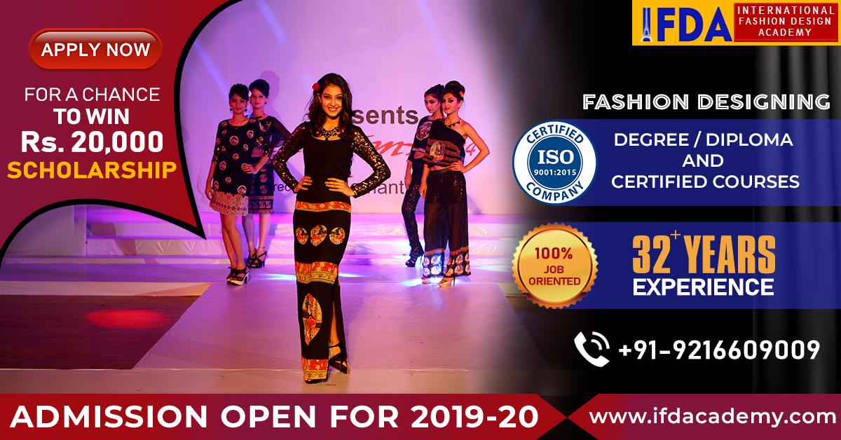 Ifda International Fashion Design Academy Is The Best Fashion Designing Institutes In India Offering A Wide Range O Fashion Designing Institute Fashion Designing Course International Fashion