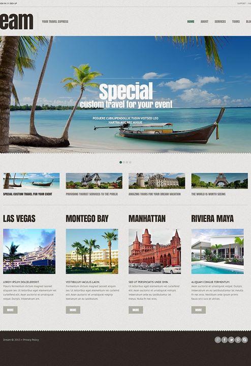 Lovely Travel Agency Responsive Wordpress Theme Click Here Live