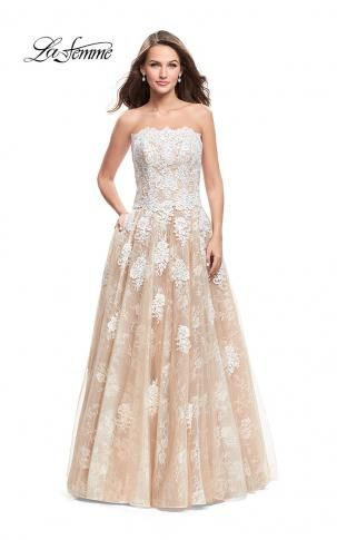 La Femme Prom Dress 25925 | La Femme Prom Collection 2018 ...