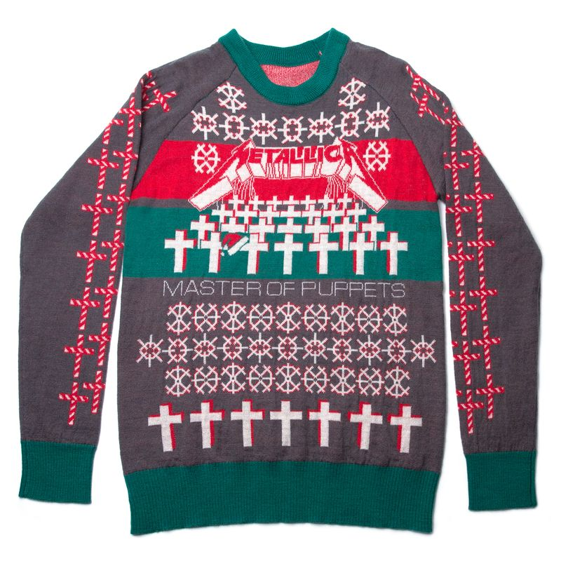 2017 Master Of Puppets Holiday Sweater Christmas Pinterest