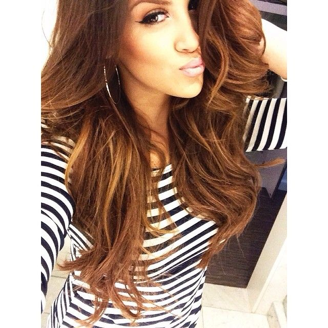 About to film but first let s take a selfie. -- wearing my  lillyhair by  BELLAMI  Hair in  4 use NIC5 for someoff. -  Nicole Guerriero-  webstagram ad5a8d18e3