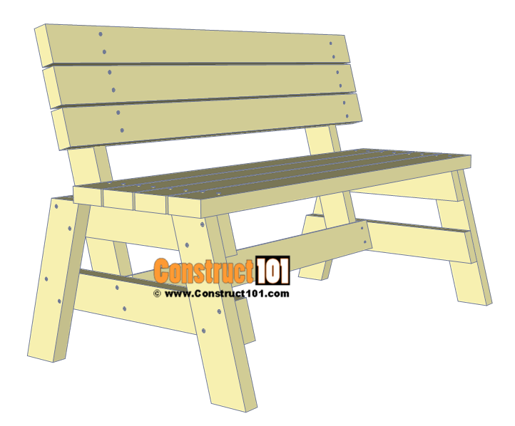Simple Diy 2x4 Bench Free Plans With Images Garden Bench Diy Outdoor Bench Plans Wooden Bench Diy