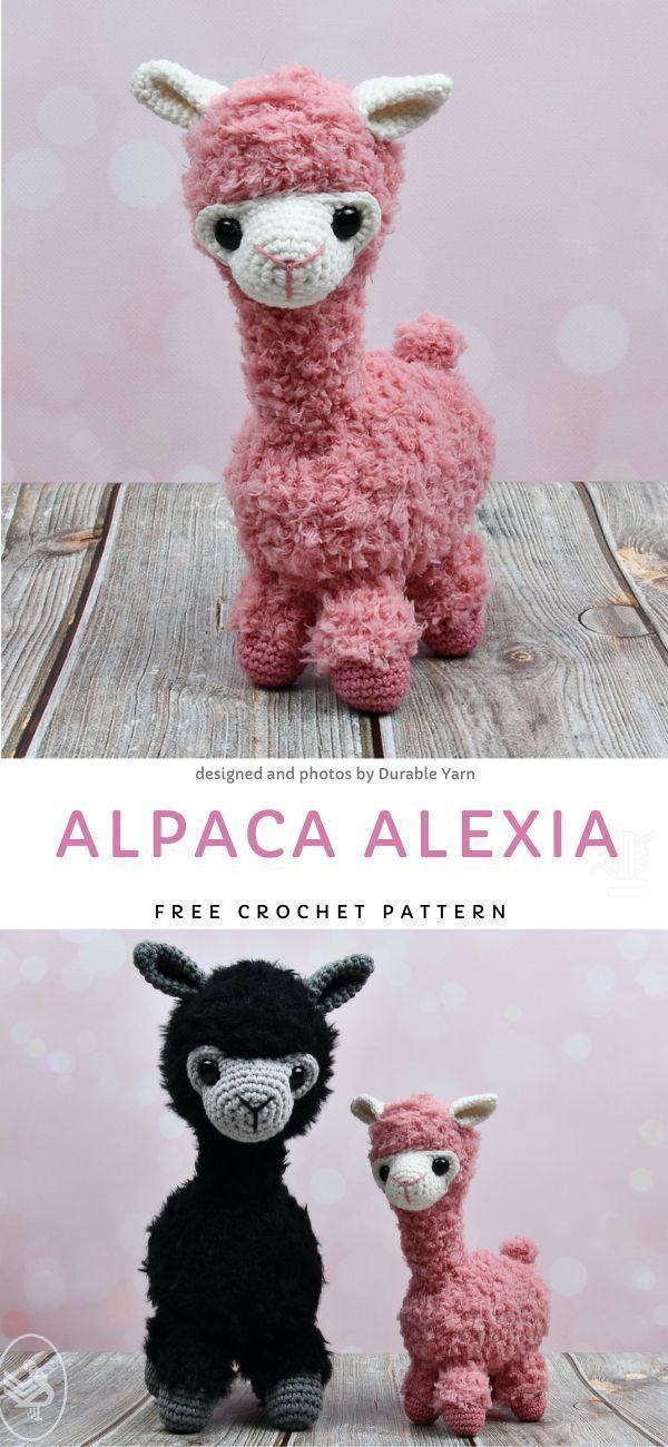 Photo of Alpaka Alexia Free Crochet Pattern #dollhats Es gibt nichts Süßeres als winzige …