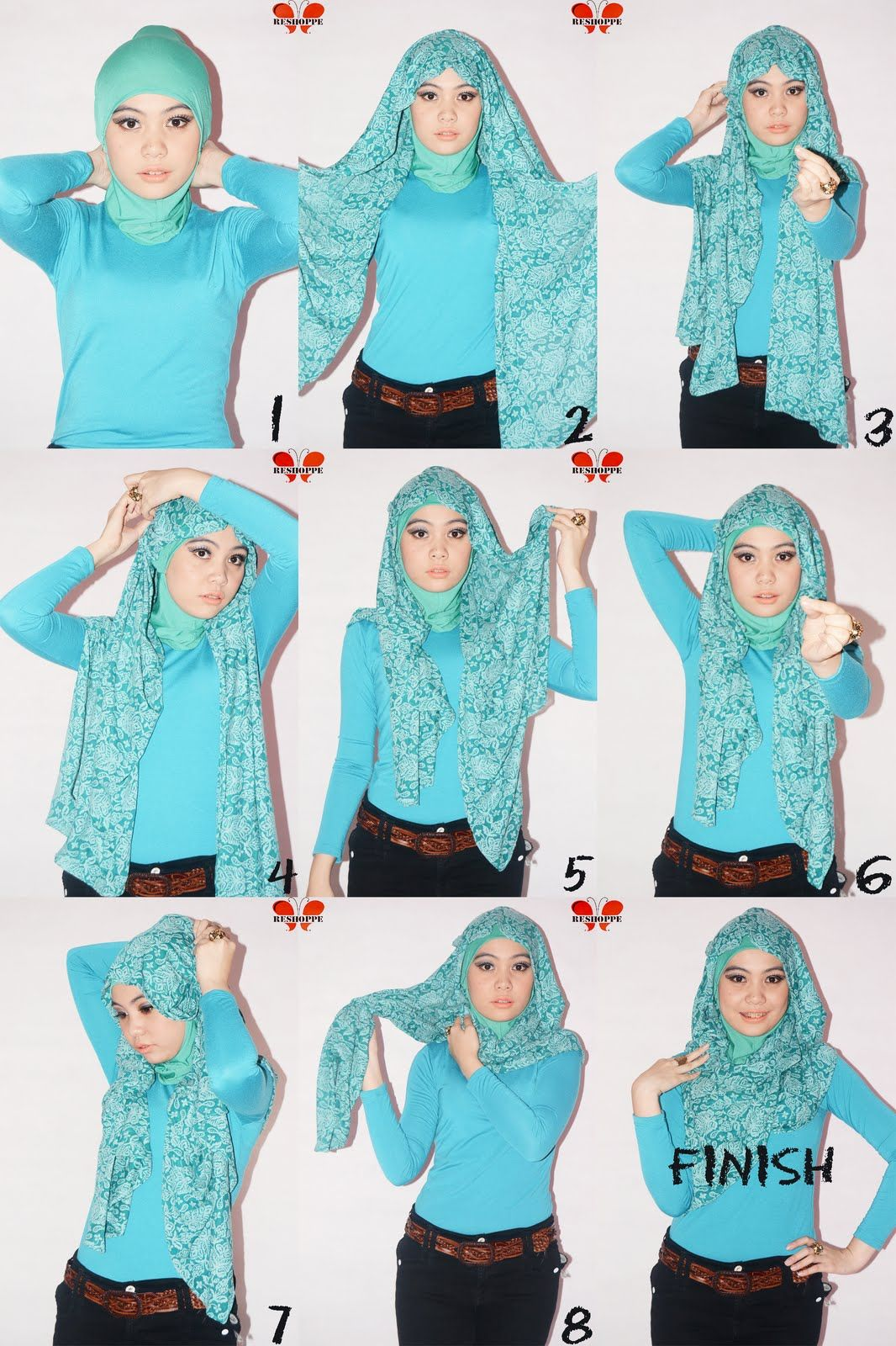 Clozette Indonesia Tutorial Hijab Paris