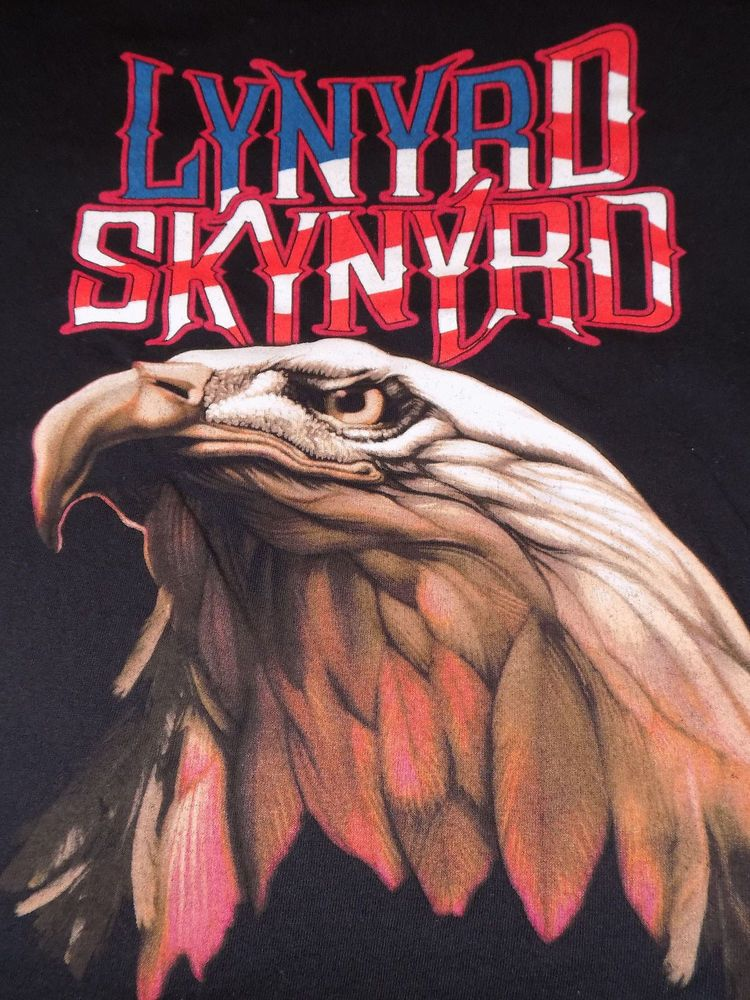 081d4f04 Lynyrd Skynyrd Free Bird Eagle T Shirt Black Size Medium #LynyrdSkynyrd  #ShortSleeve