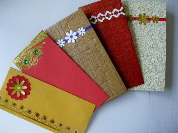 Money Envelope, Gift Card Envelope / Holder, Money Holder