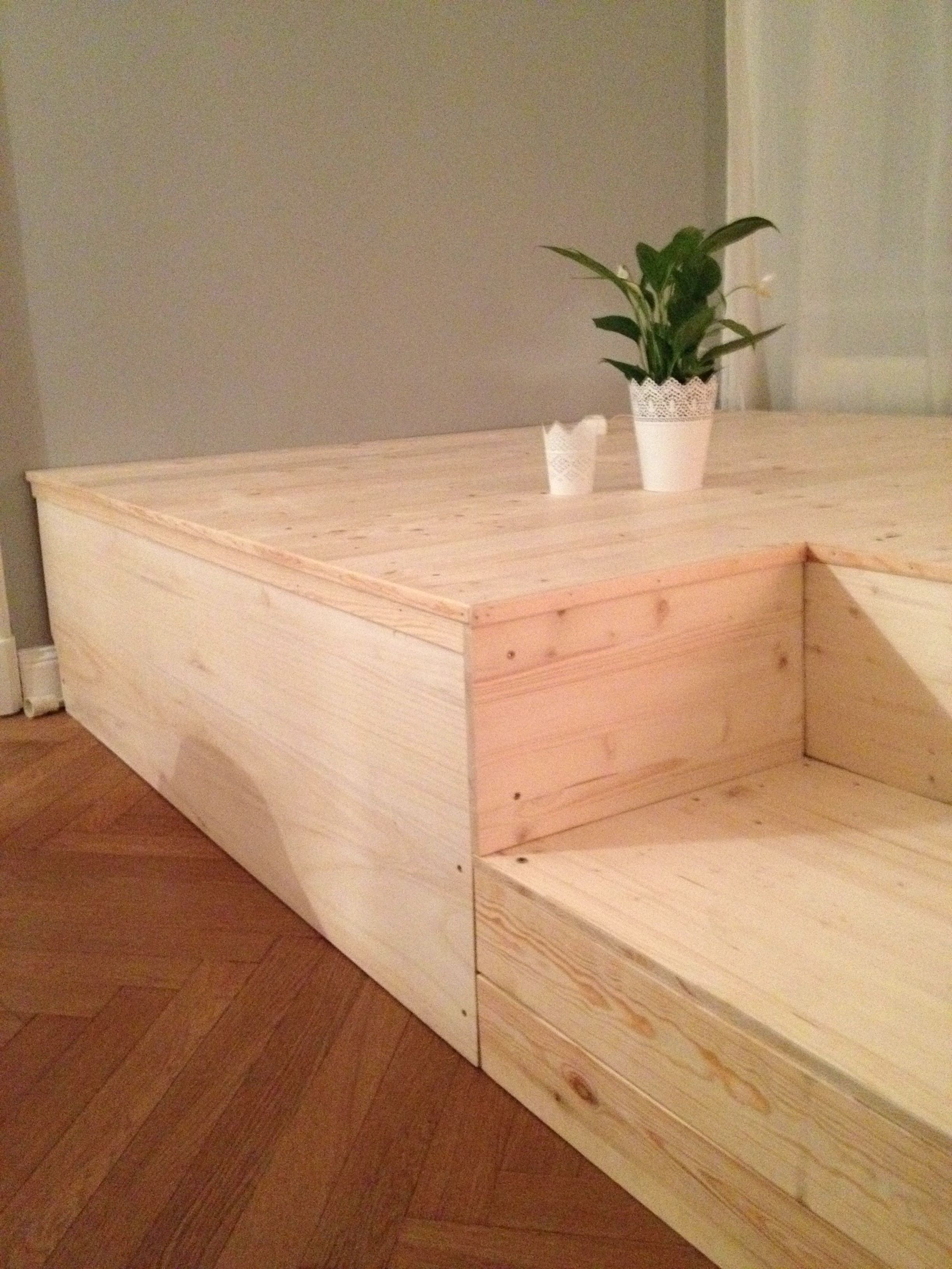 Gut gemocht DIY Podest … | Storage beds | Podes… CL76