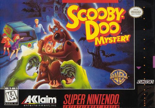 Scooby Doo Mystery Snes Game Scooby Doo Mystery Super