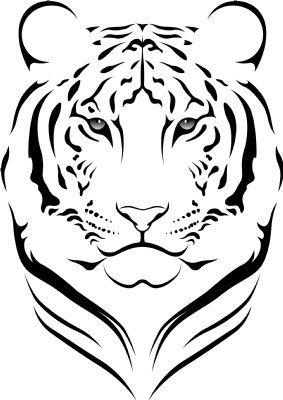 321tigerhuvu Jpg 283 400 Dibujos De Animales