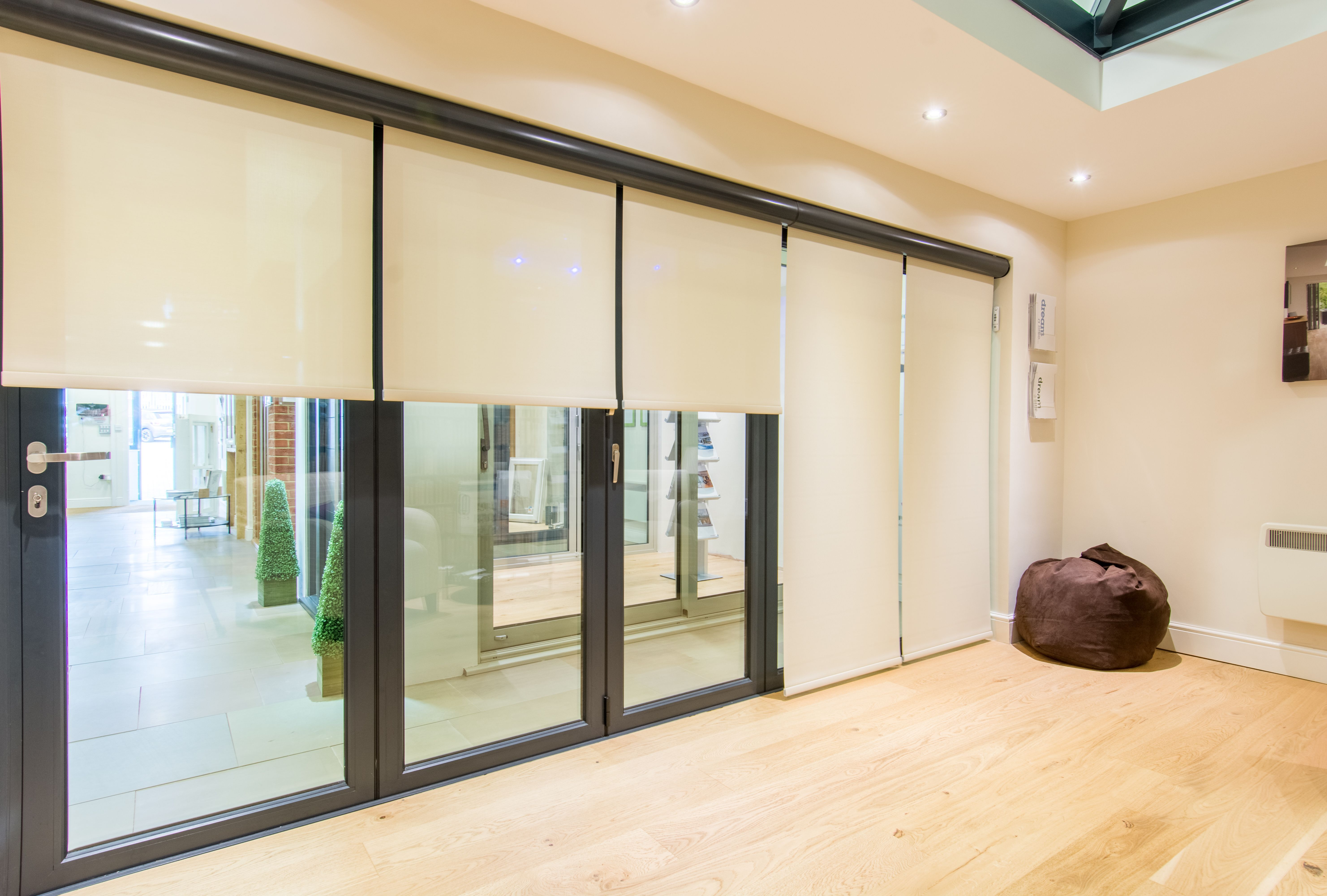 Stuck For Ideas For Bifolds These Remote Blinds Are A Perfect
