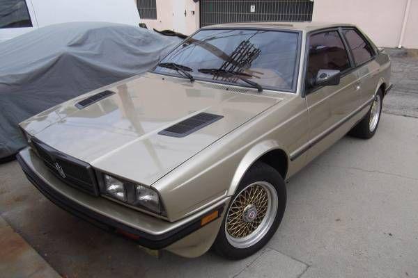 Impressive One Owner: 1987 Maserati Biturbo Si