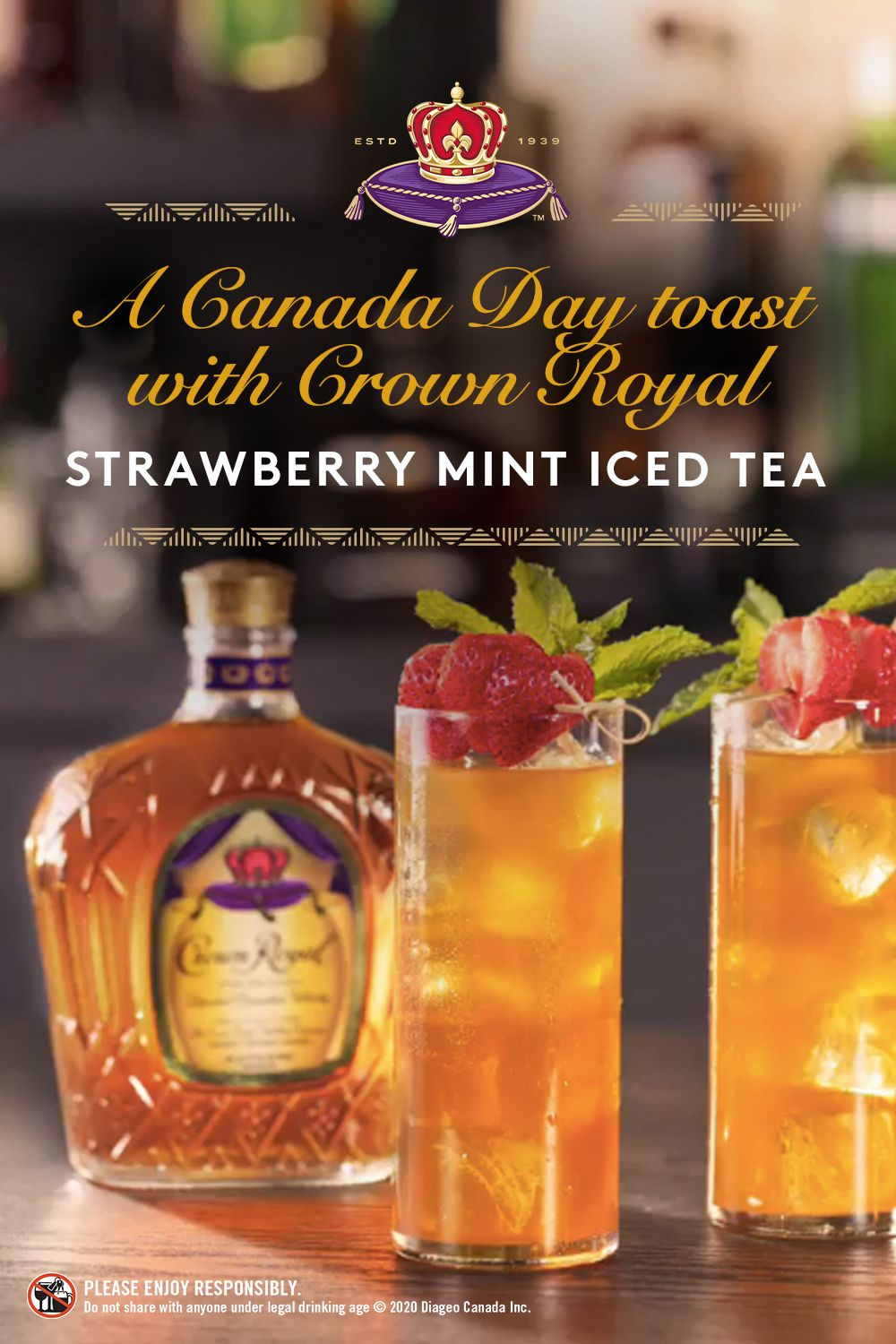 Crown Royal Canada Day Cocktail in 2020 Whisky cocktails