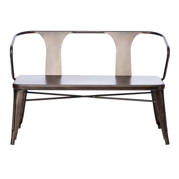 Sensational Tabouret Vintage Metal Bench With Back Pretty Cool But A Andrewgaddart Wooden Chair Designs For Living Room Andrewgaddartcom