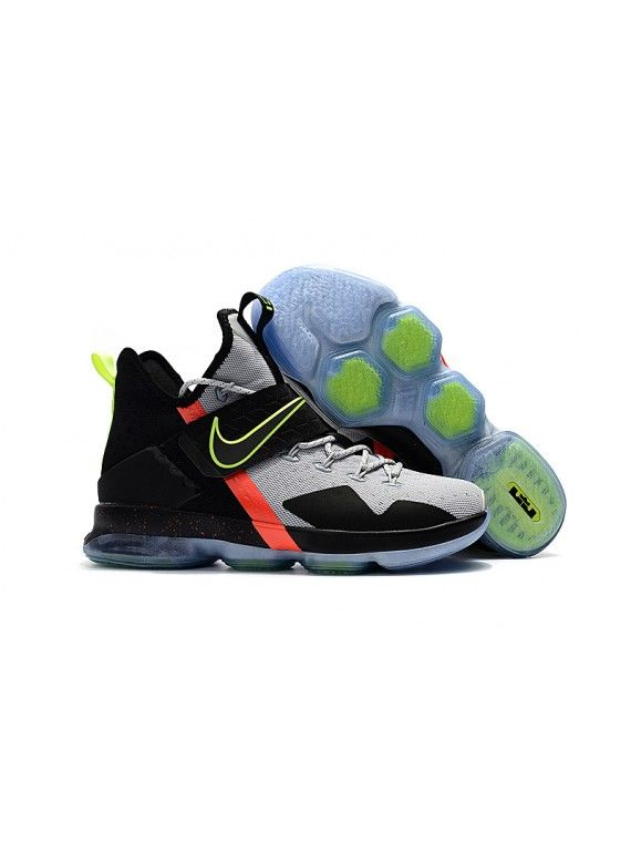 Original Nike LeBron 14 Nike LeBron 14 SBR Black Neon Green Light In The Dark Jordan 14 Get KD Shoes Buy New Curry Shoes Lebron New Lebron 14 shoes Lebron James 14
