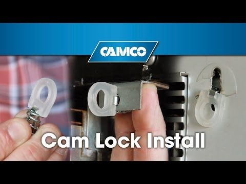 Cam Lock Install For Your Rv S Water Heater Door Rv Water Heater Solar Panels Solar Water Heating