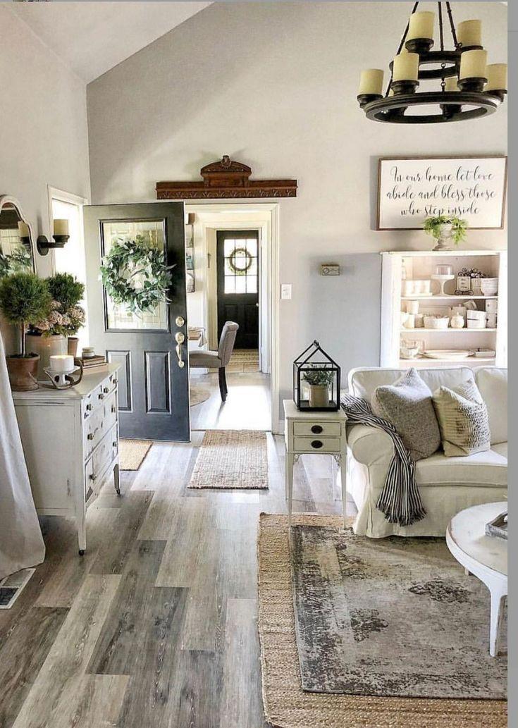 79 Mein Bauernhausstil Wohnzimmer #modernfarmhousestyle