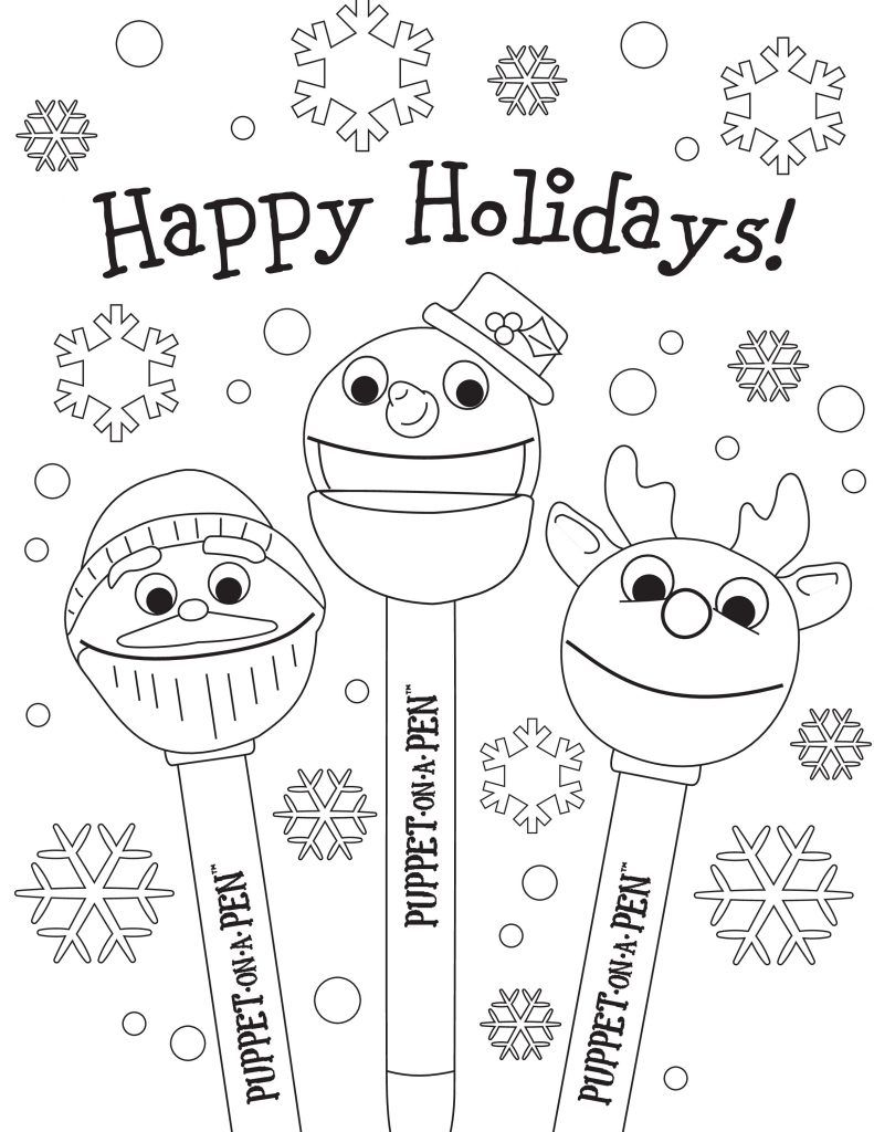 Happy Holiday Coloring Pages For Kids Coloring Pages For Kids Christmas Coloring Pages Free Christmas Coloring Pages