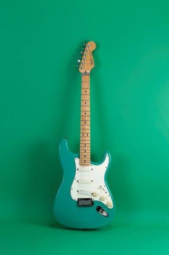 1989 Fender Stratocaster Elite Bahama Green #fenderstratocaster