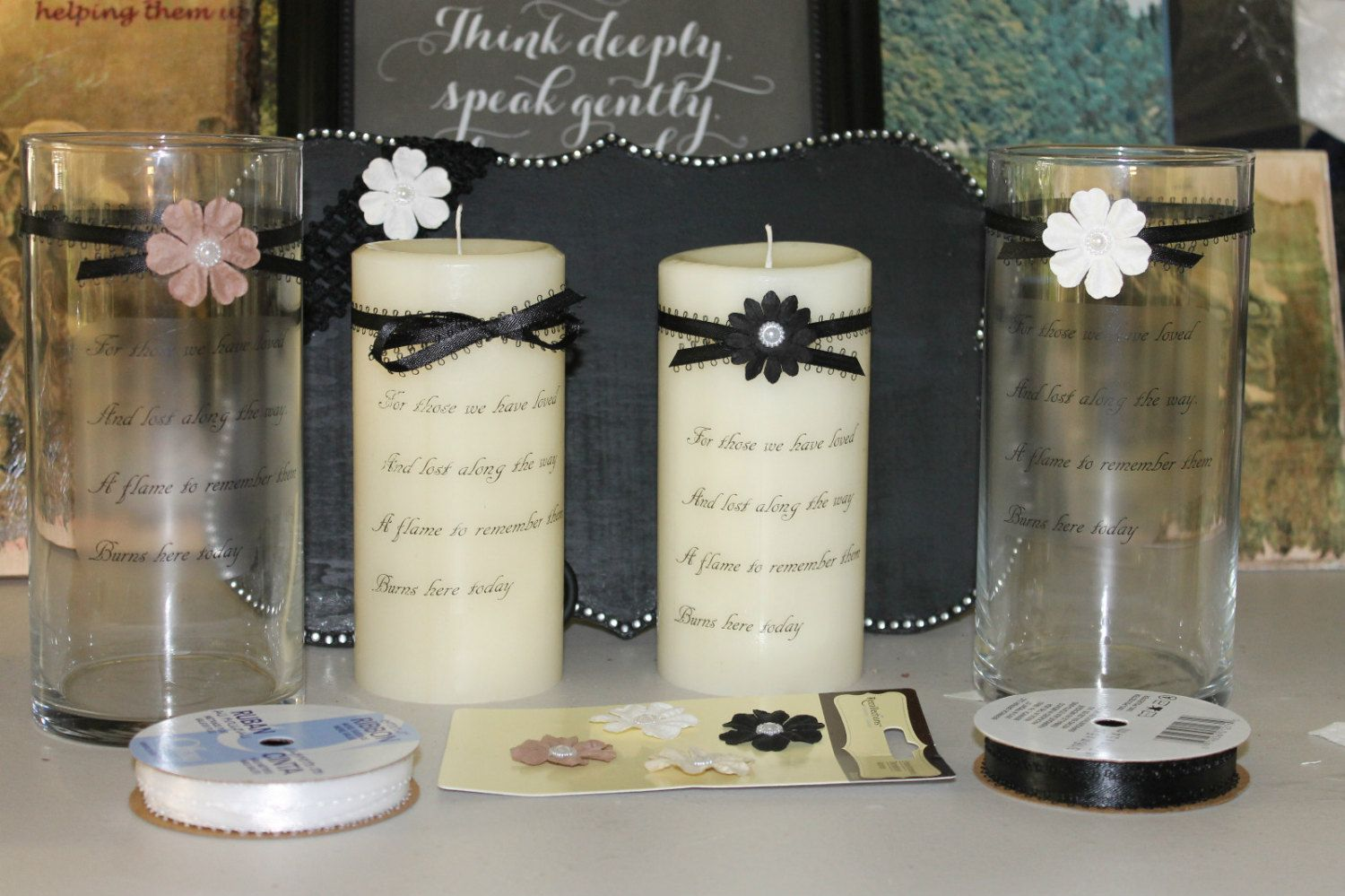 For those we have loved memory memorial candles or candle hurricane explore do it yourself crafts memorial candles and more solutioingenieria Gallery